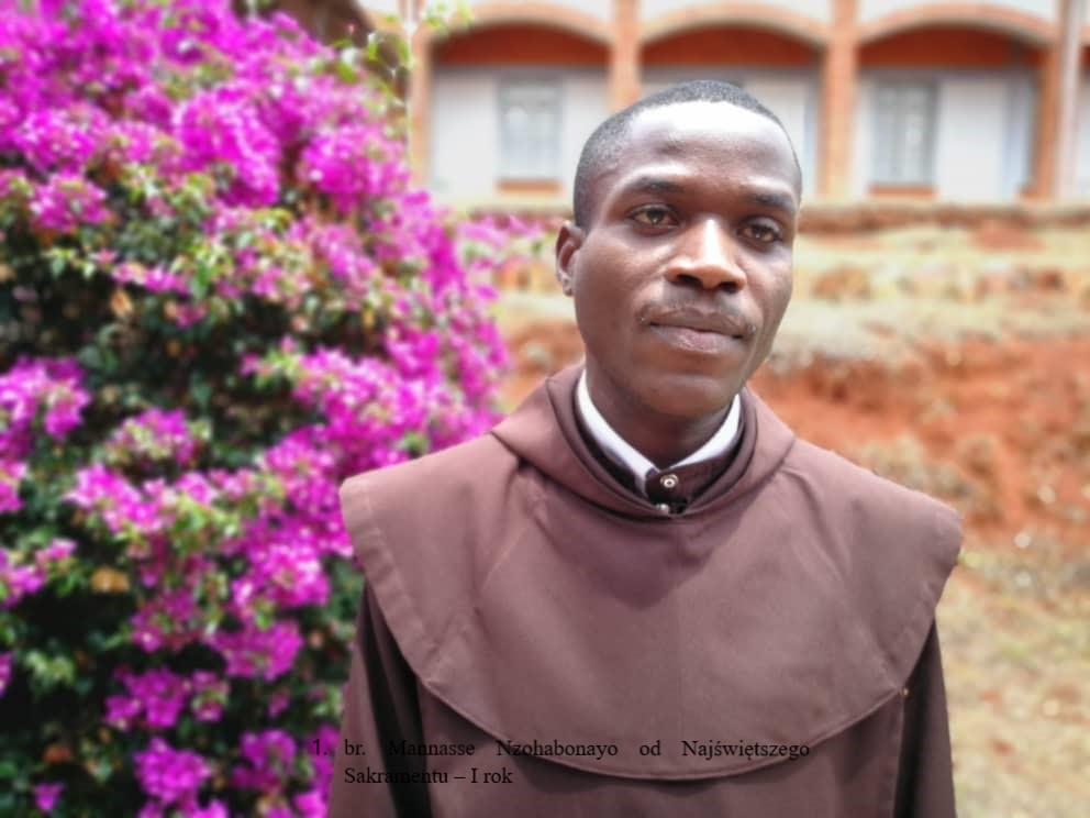Br. Mannasse Nzohabonayo od Najświętszego Sakramentu – I rok