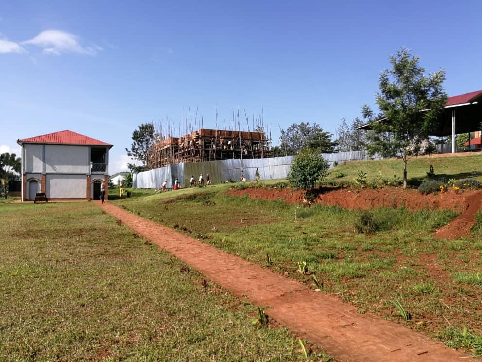 Aktualności z budowy klasztoru w Gitega