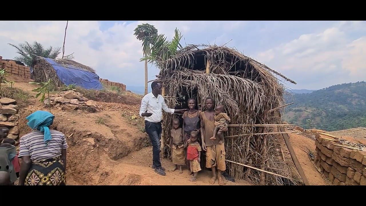 Od słomianej chaty, po ceglany dom - projekt budowy domów we wiosce Cani