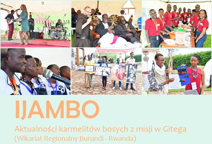 IJAMBO Aktualności karmelitów bosych z misji w Gitega